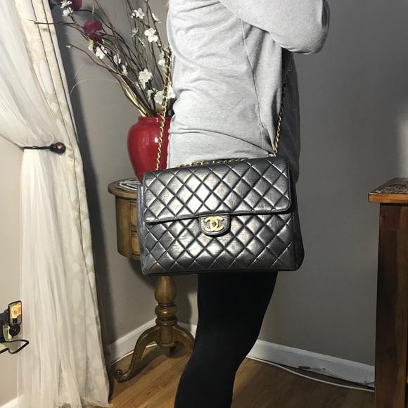 cc6fdc753b0079 CHANEL Handbags - Authentic CHANEL JUMBO XL Quilted Crossbody
